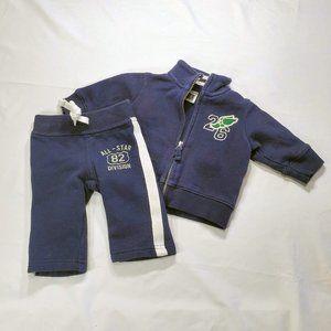 CARTERS Jacket Zip Up and Sweat Pants bundle